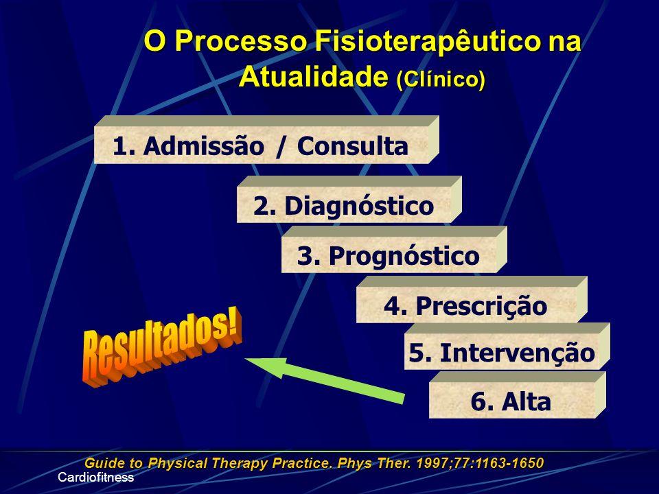 O Processo Fisioterapêutico na Atualidade (Clínico)