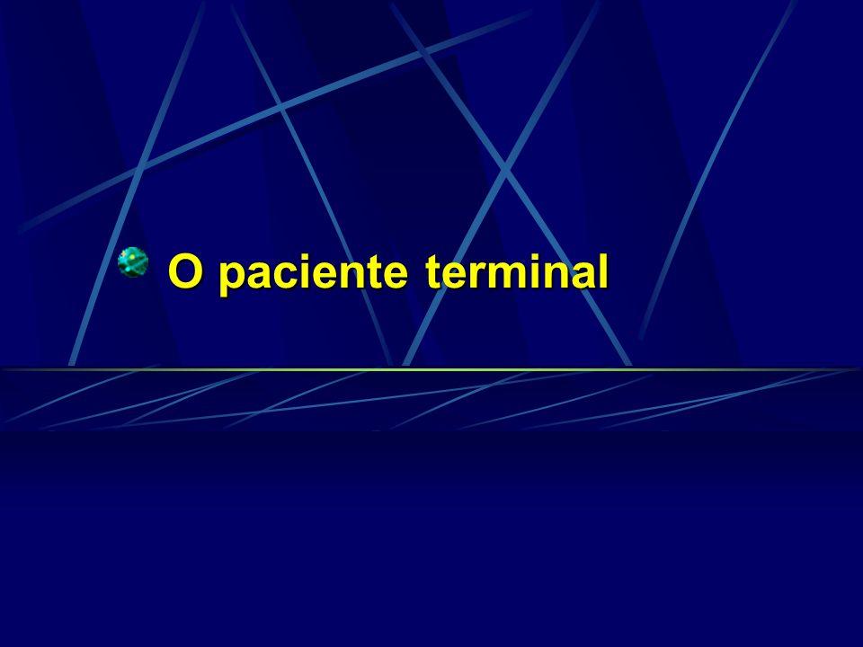 O paciente terminal