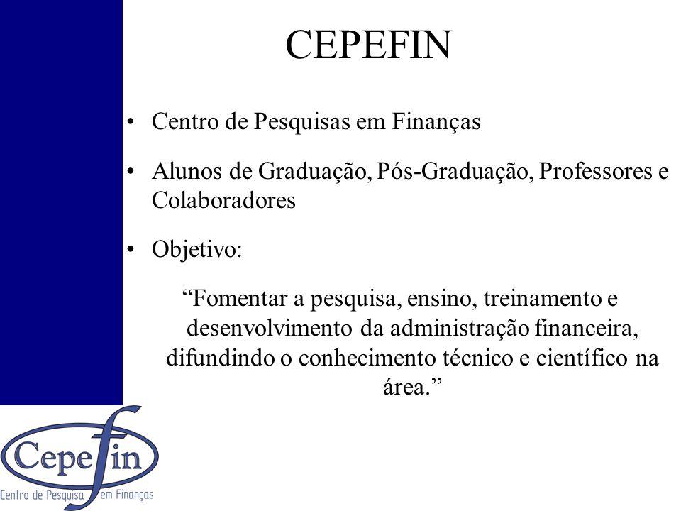 CEPEFIN Centro de Pesquisas em Finanças
