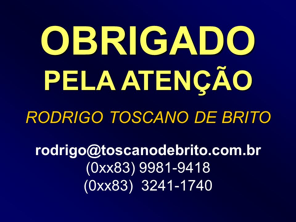RODRIGO TOSCANO DE BRITO