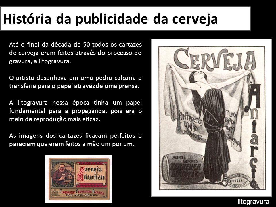História da publicidade da cerveja