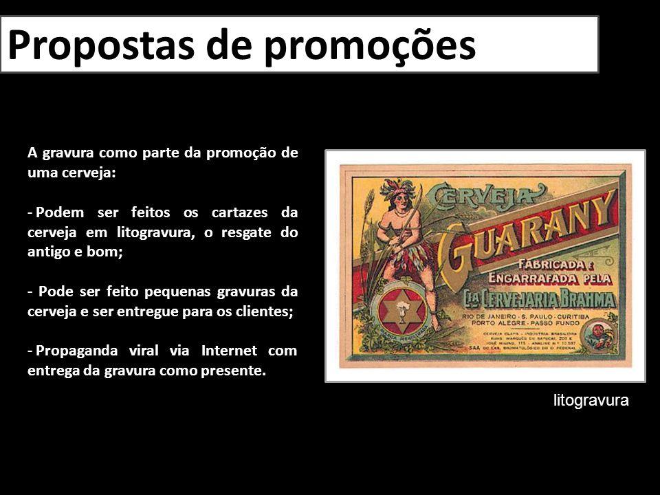 Propostas de promoções