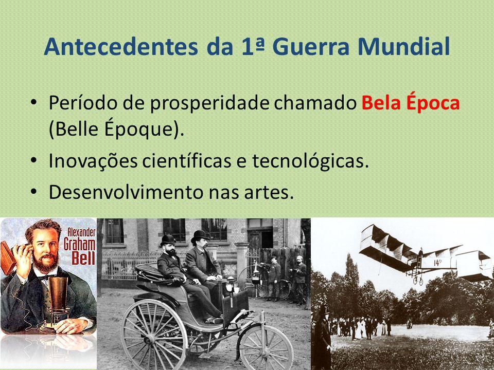 Antecedentes da 1ª Guerra Mundial