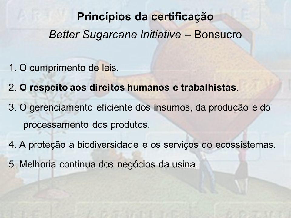 Princípios da certificação