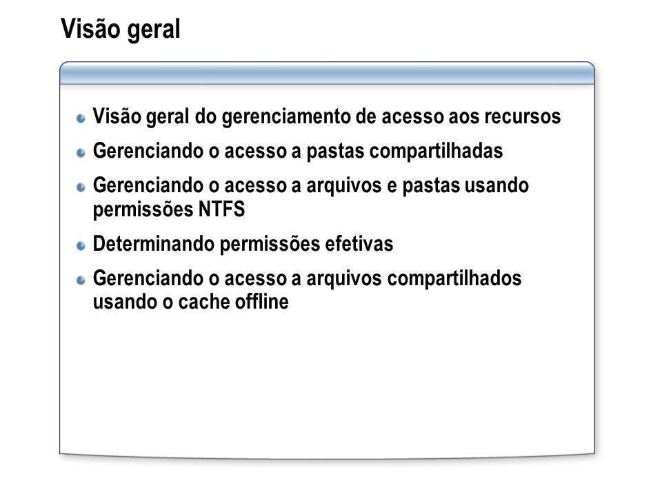 Visão geral Visão geral do gerenciamento de acesso aos recursos