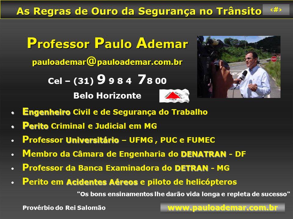Professor Paulo Ademar