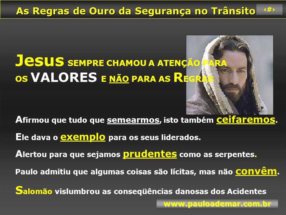 Jesus SEMPRE CHAMOU A ATENÇÃO PARA
