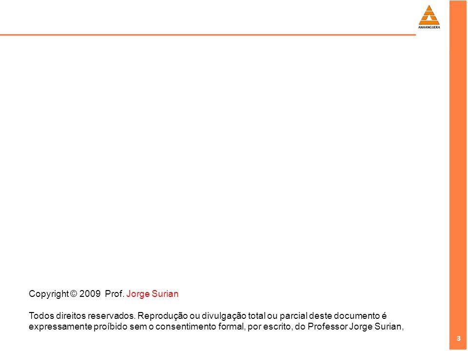 Copyright © 2009 Prof. Jorge Surian