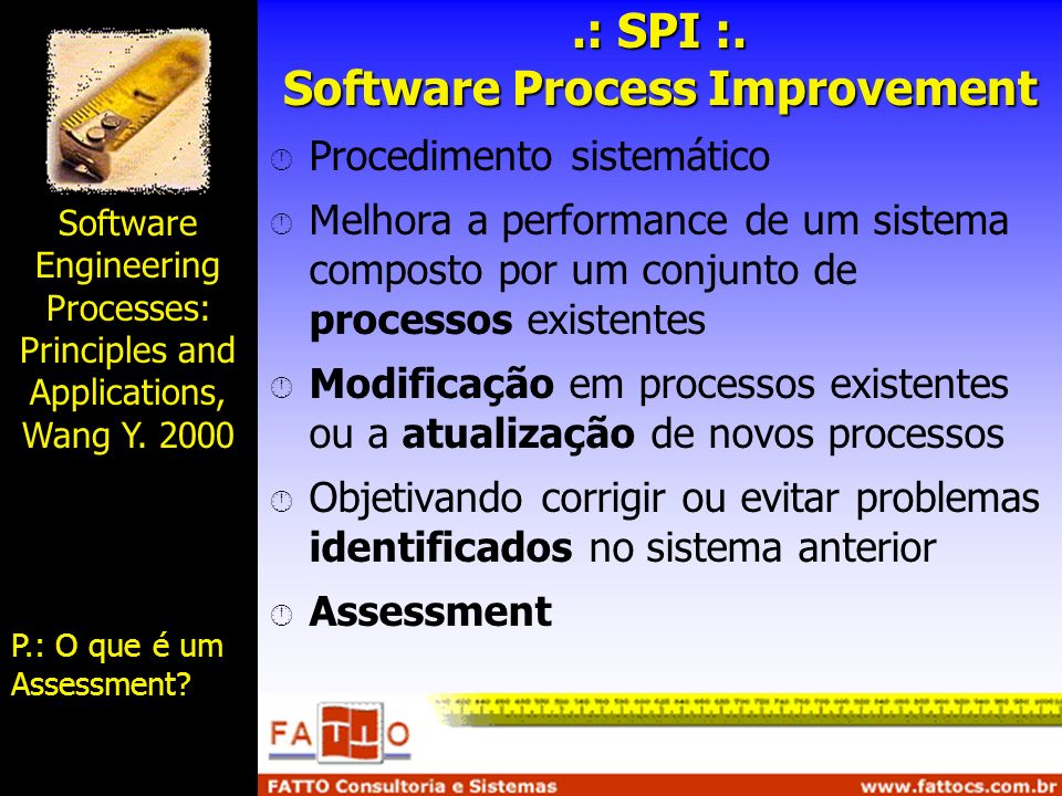 .: SPI :. Software Process Improvement