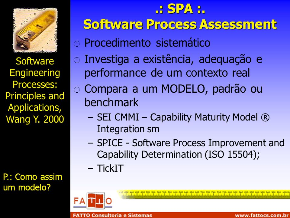 .: SPA :. Software Process Assessment
