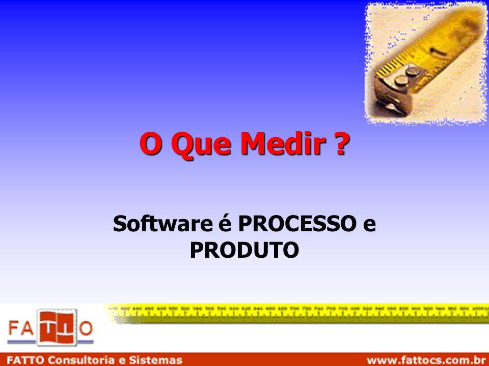 Software é PROCESSO e PRODUTO