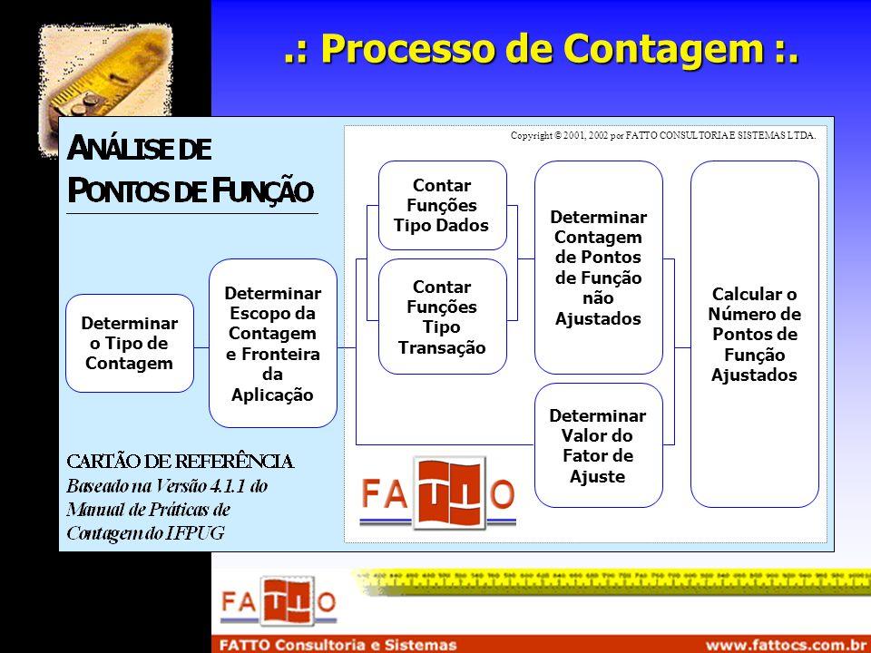.: Processo de Contagem :.