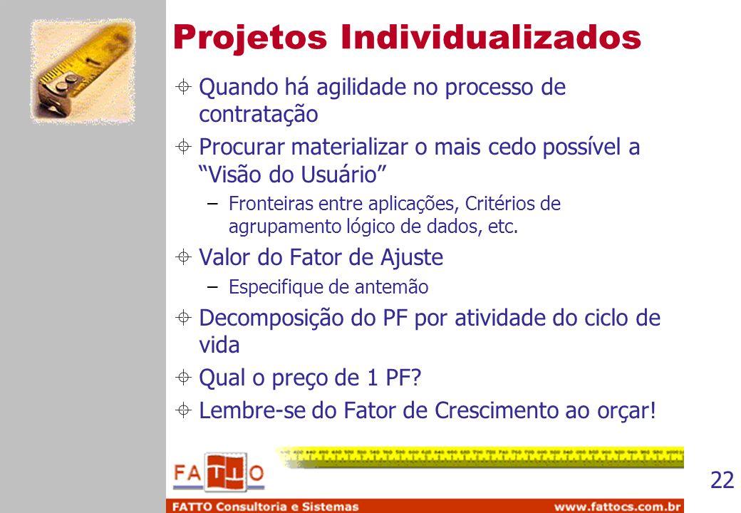Projetos Individualizados