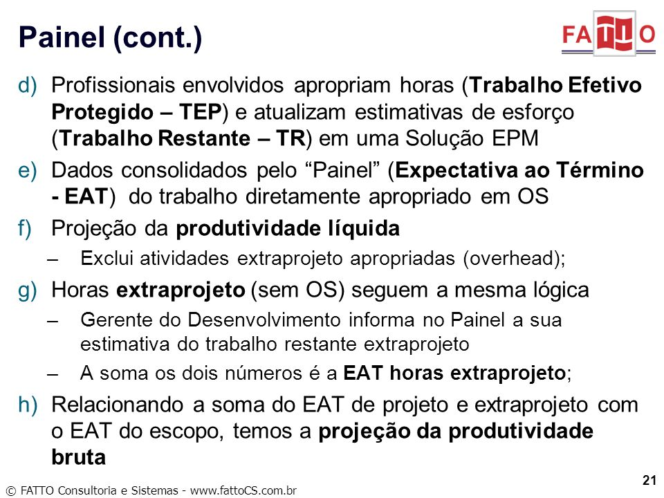 Painel (cont.)