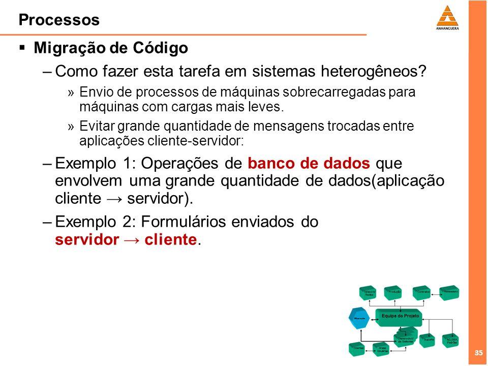 Como fazer esta tarefa em sistemas heterogêneos