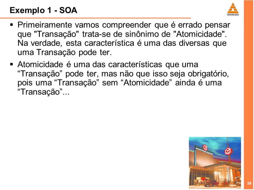 Exemplo 1 - SOA