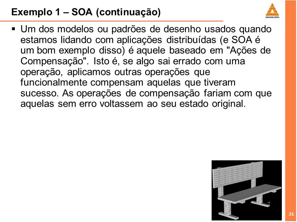 Exemplo 1 – SOA (continuação)