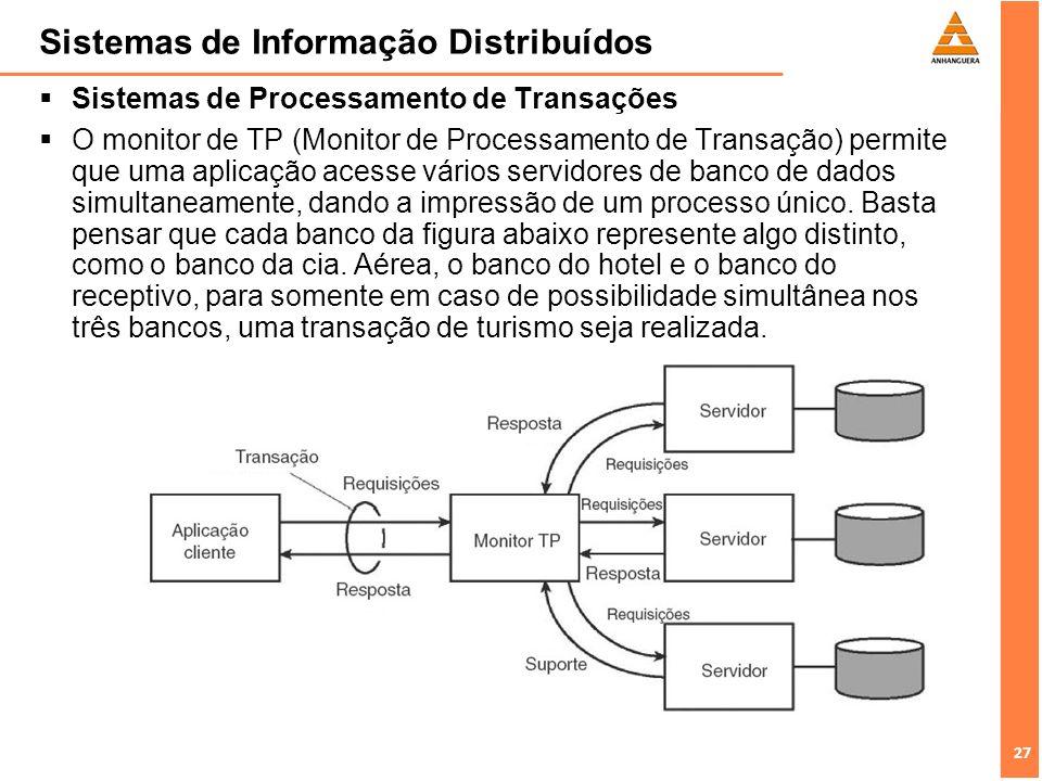 Sistemas de Informação Distribuídos