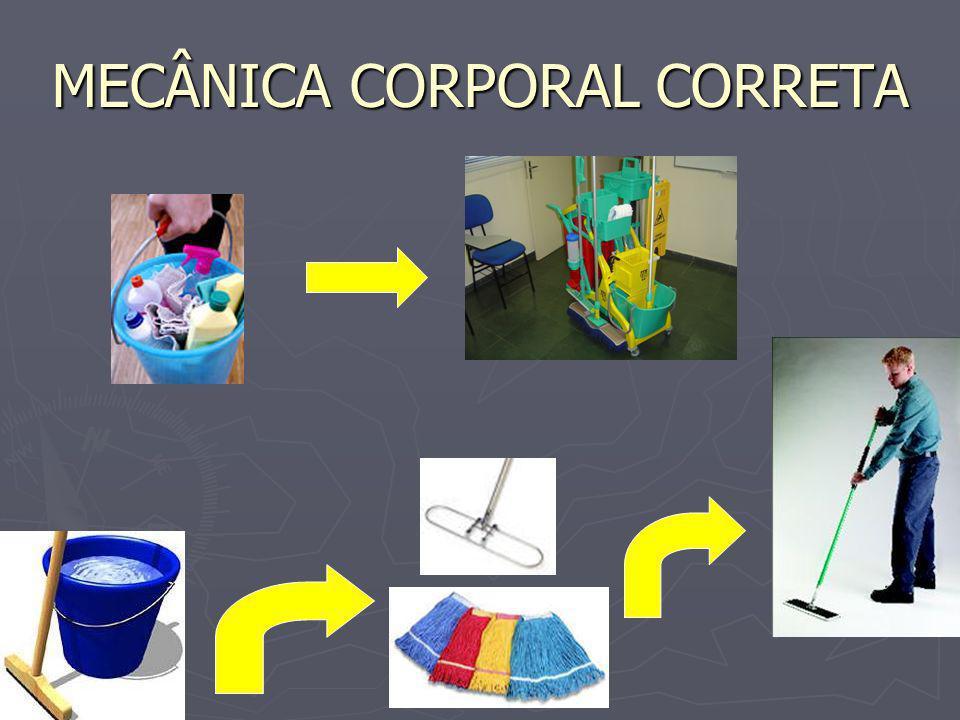MECÂNICA CORPORAL CORRETA