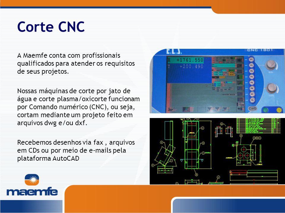 Corte CNC