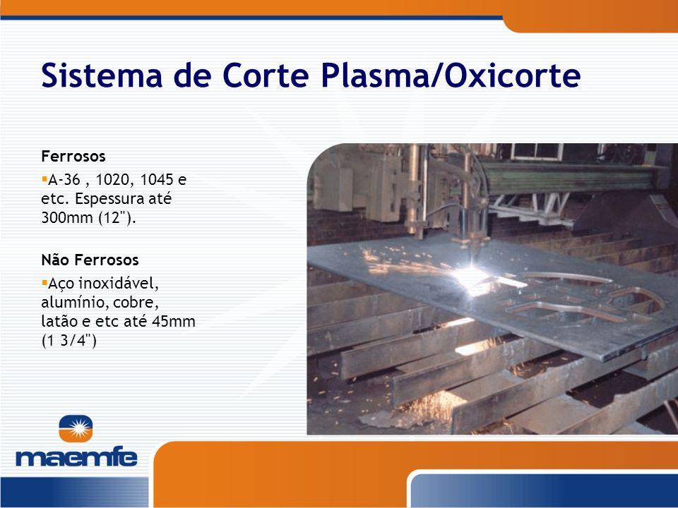 Sistema de Corte Plasma/Oxicorte