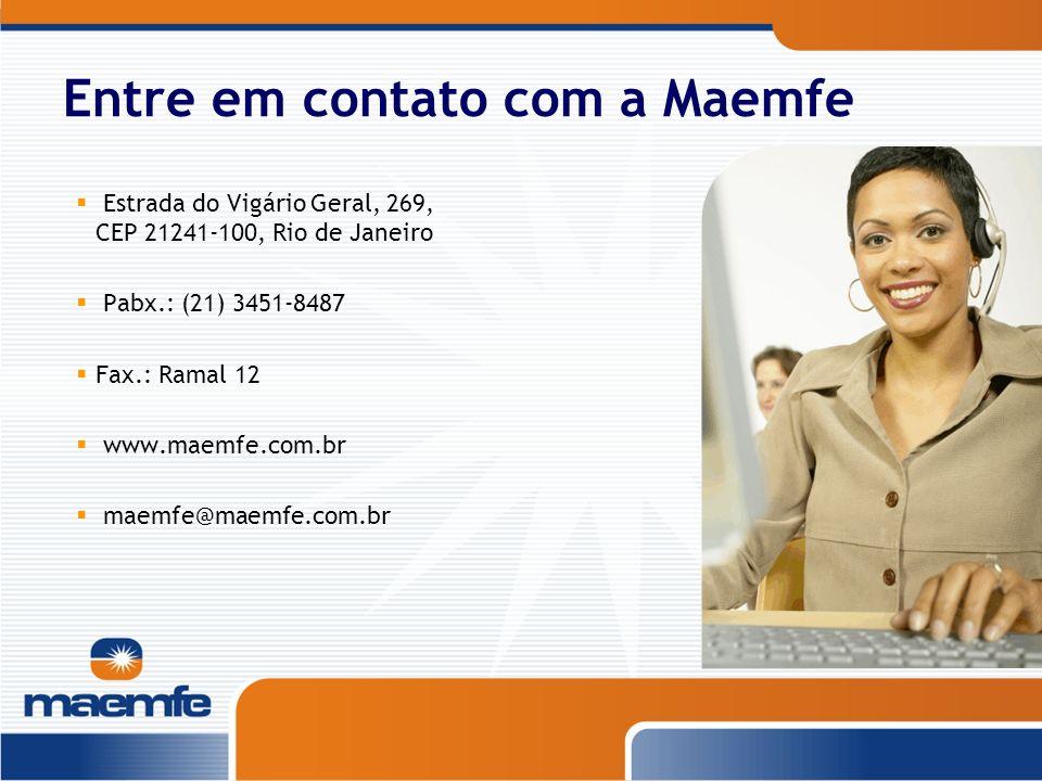 Entre em contato com a Maemfe