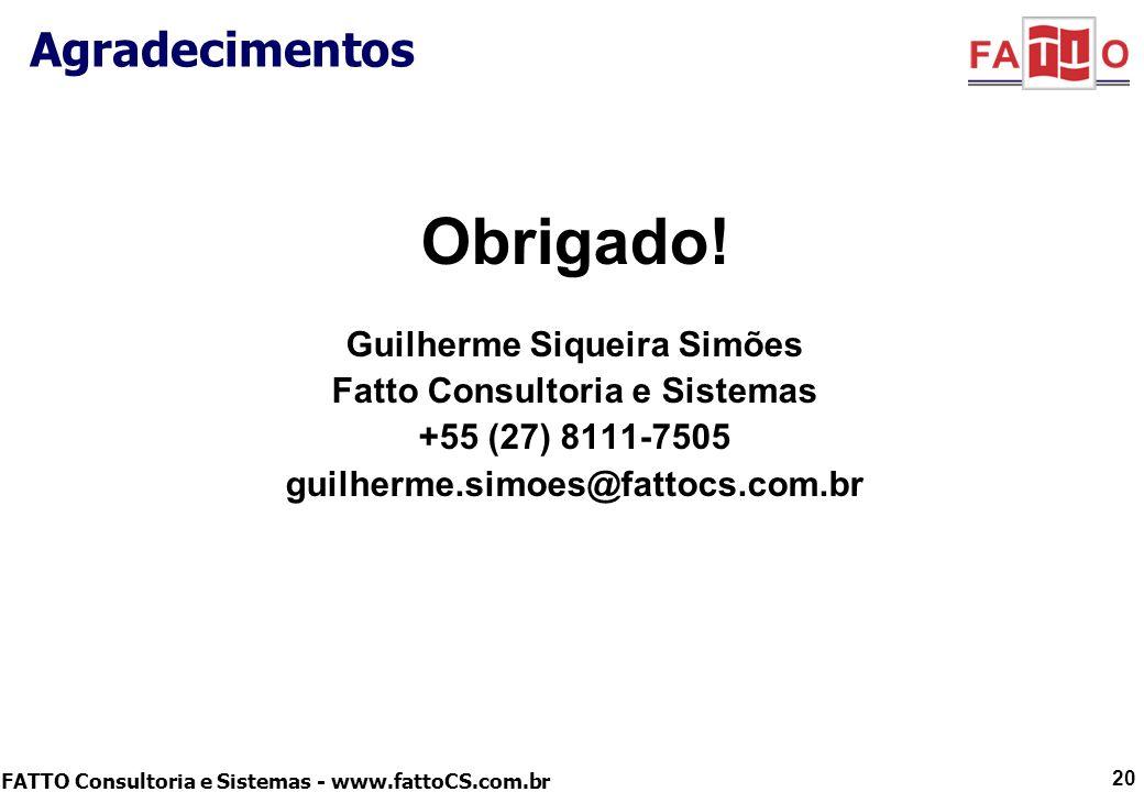 Guilherme Siqueira Simões Fatto Consultoria e Sistemas