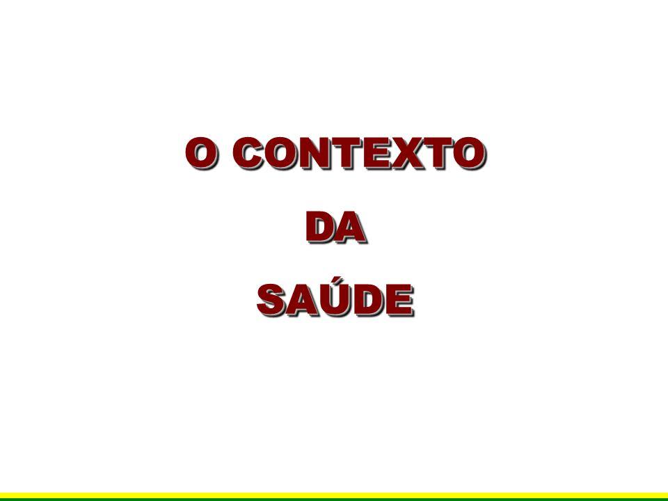 O CONTEXTO DA SAÚDE