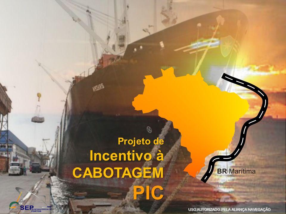 PIC Incentivo à CABOTAGEM IV Seminário de Logística da SEP PAULO HO
