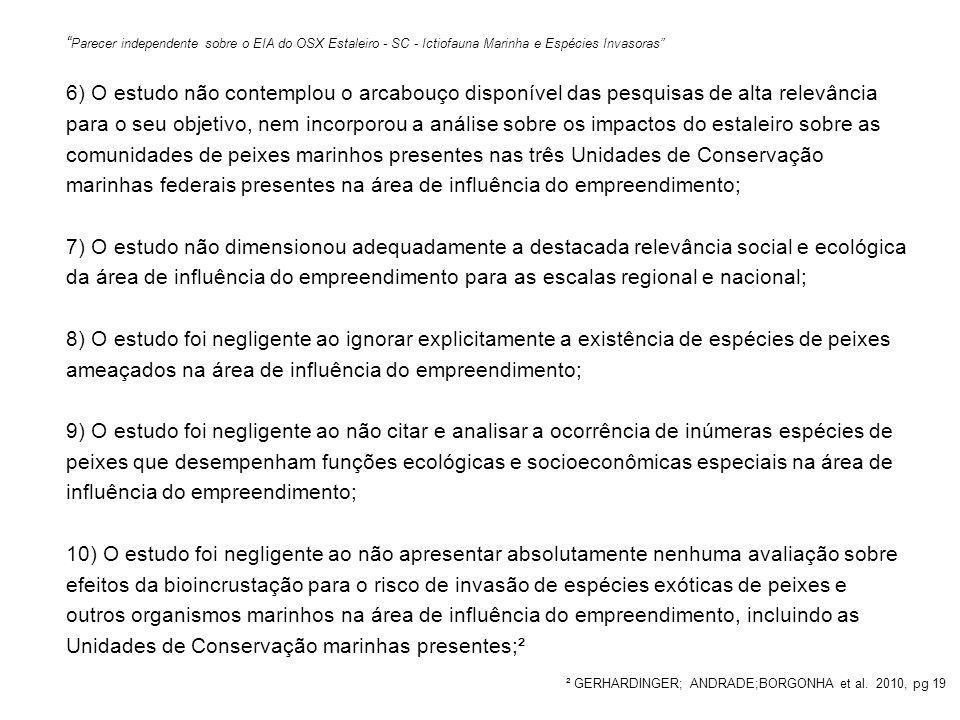 ² GERHARDINGER; ANDRADE;BORGONHA et al. 2010, pg 19