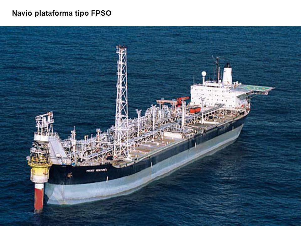 Navio plataforma tipo FPSO