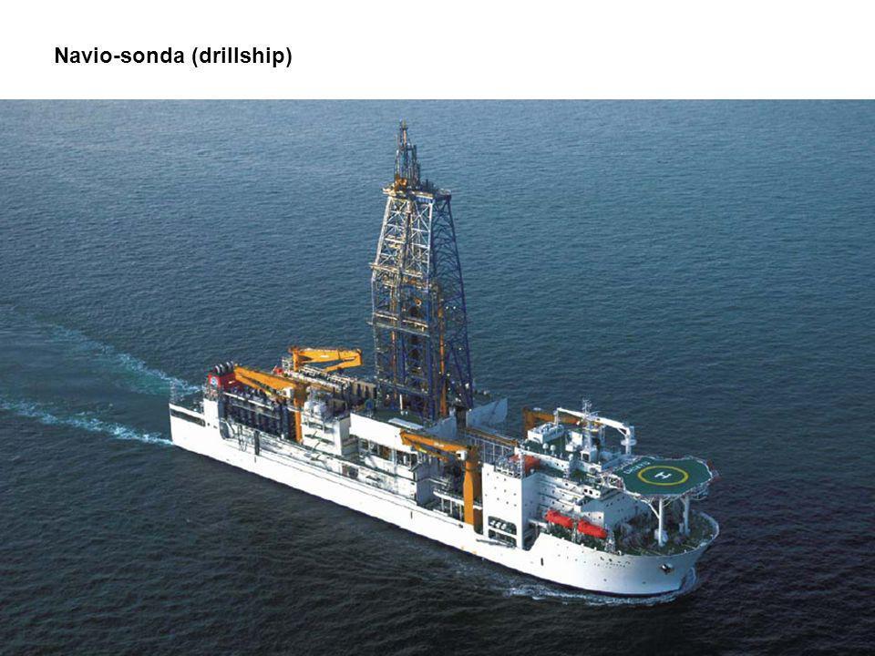 Navio-sonda (drillship)