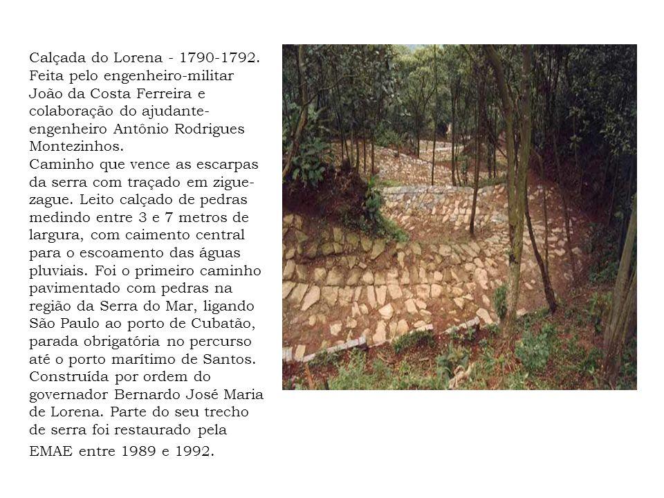 Calçada do Lorena - 1790-1792.