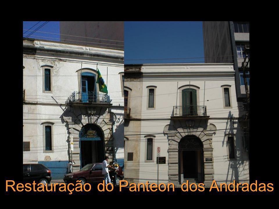 Restauração do Panteon dos Andradas