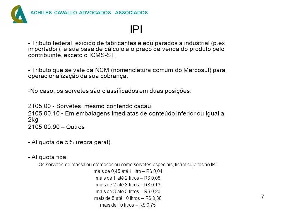 IPI ACHILES CAVALLO ADVOGADOS ASSOCIADOS.