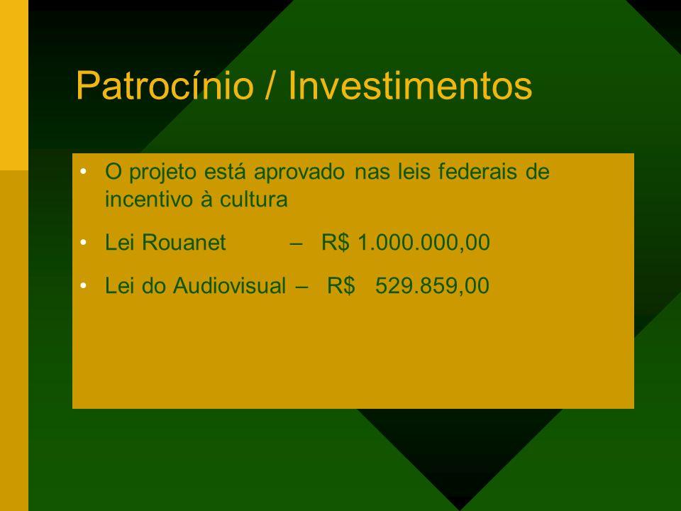 Patrocínio / Investimentos