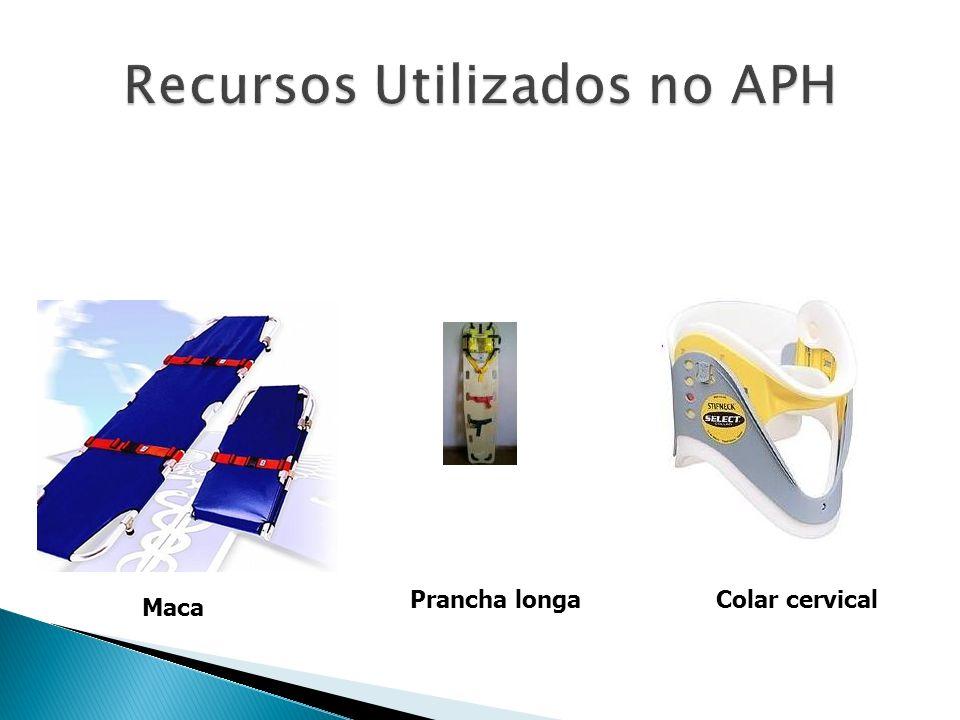 Recursos Utilizados no APH