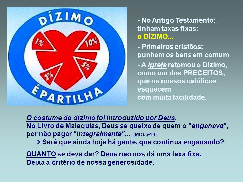 - No Antigo Testamento: