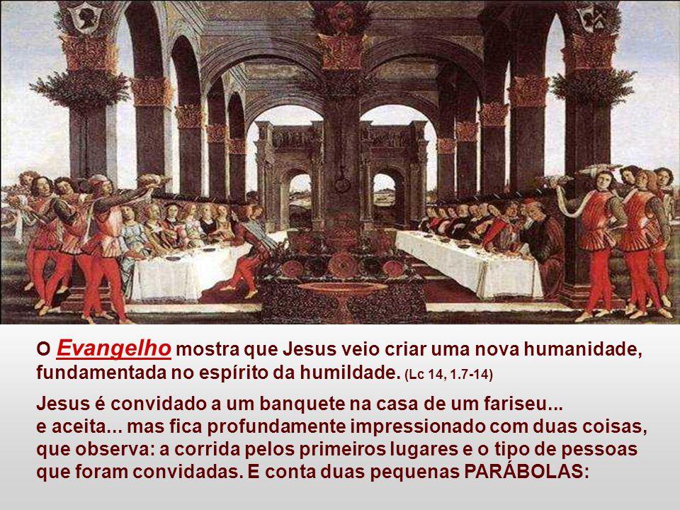 O Evangelho mostra que Jesus veio criar uma nova humanidade,