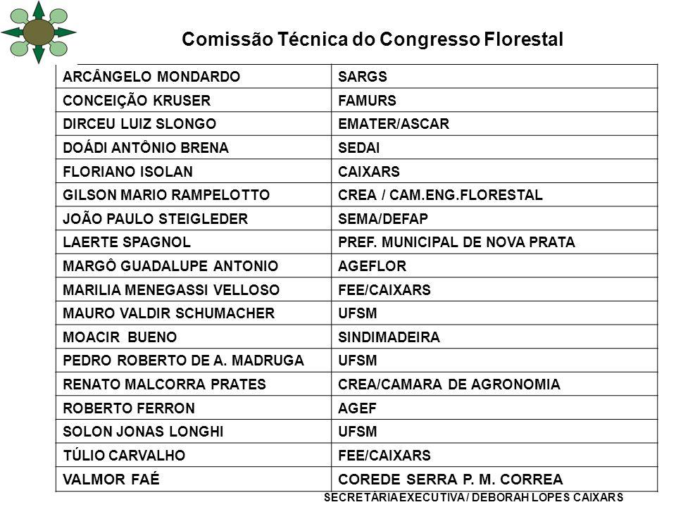 Comissão Técnica do Congresso Florestal