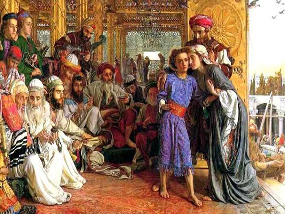 O Evangelho nos apresenta a Sagrada Família de Nazaré, como modelo de todas famílias. (Lc 2,41-52)