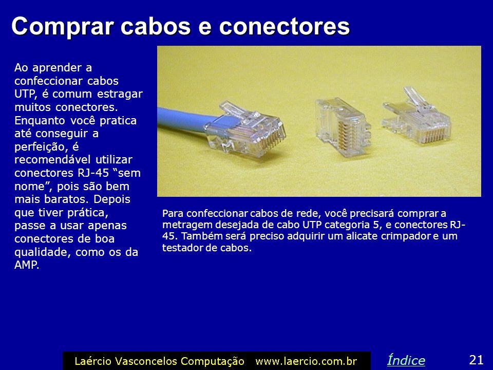 Comprar cabos e conectores