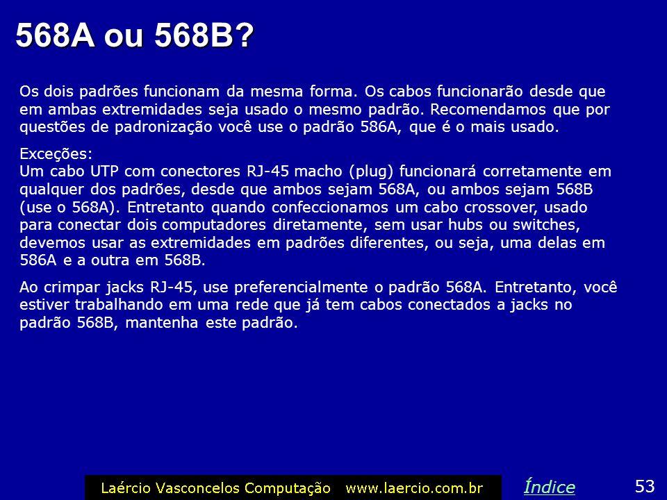 568A ou 568B
