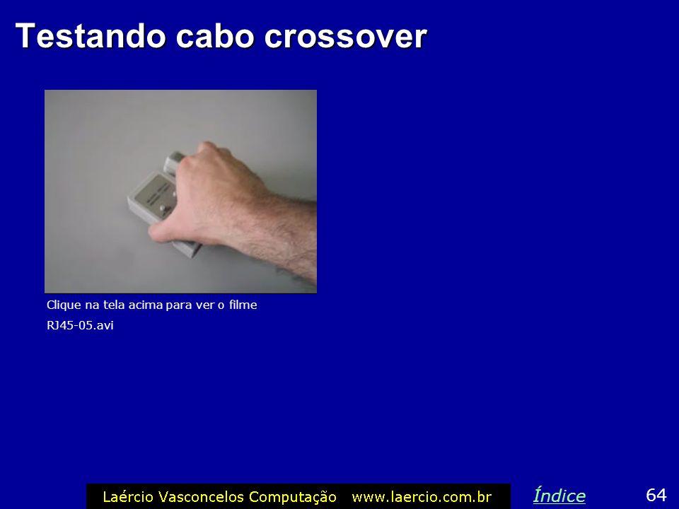 Testando cabo crossover