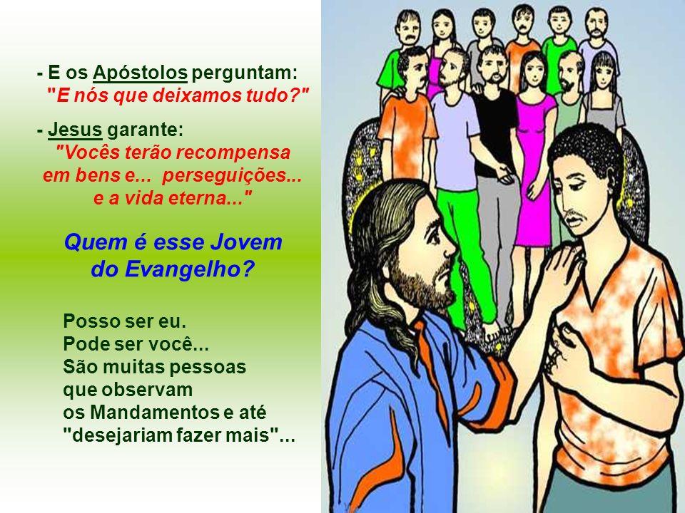 Quem é esse Jovem do Evangelho