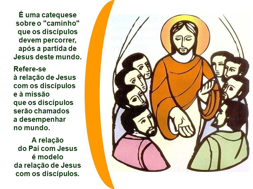 É uma catequese sobre o caminho que os discípulos devem percorrer,