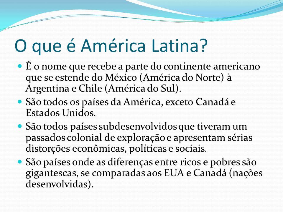 O que é América Latina