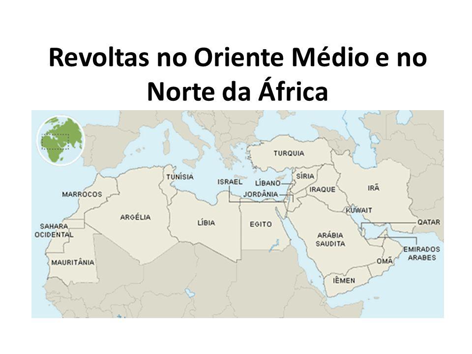 Revoltas no Oriente Médio e no Norte da África