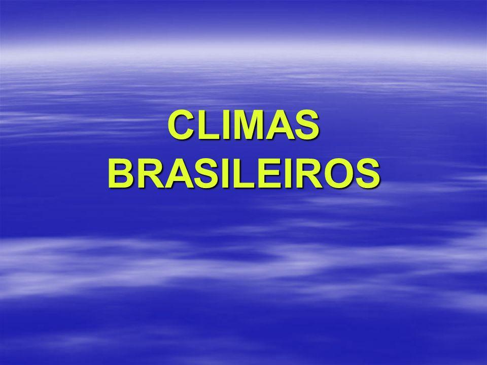 CLIMAS BRASILEIROS