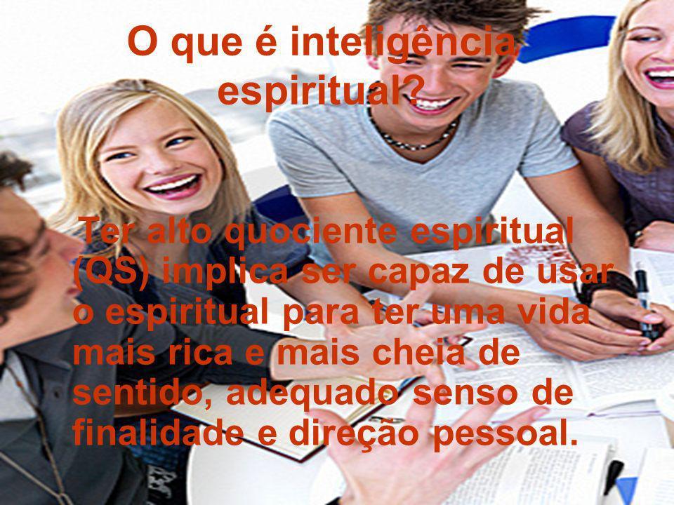 O que é inteligência espiritual